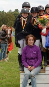 Flyinge RF tog hem 2:a platsen i hoppning lag ponny. I laget red Beata Hermelin, Evelina Ellhult, Madeleine Sigeholt, Matilda Suikki. Lagledare var Katarina Lindh Beata Hermelin placerades på 2:a plats individuellt i Kat B.